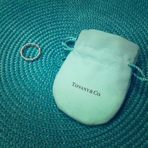 Tiffany's Paloma love and kisses ring